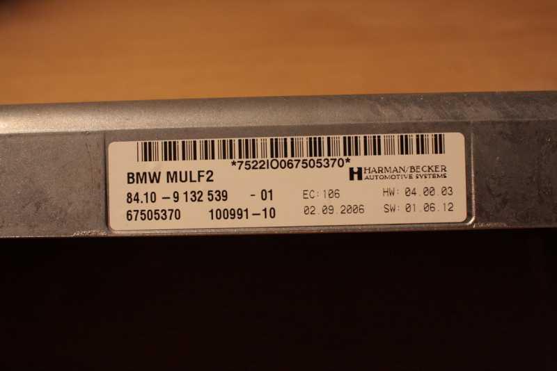 BMW Combox E / X serien - Forum